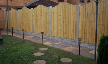 Fence Panels Fence Erection Service in Solihull